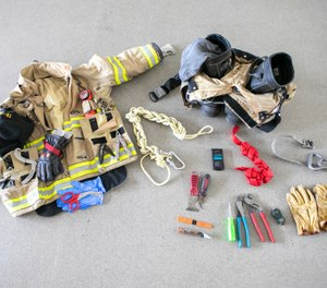 Ask any firefighter to empty the pockets on their turnout gear and it's likely you'll have enough inventory to stock a small hardware store. (Photo/Tina Gianos)