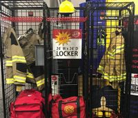 GearGrid showcases new firefighter storage products