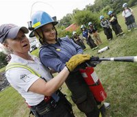 Girls on fire: Camps help females prep for firefighter jobs