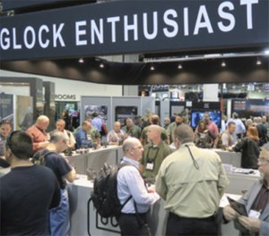 The showroom floor at SHOT Show. (Photo/PoliceOne)