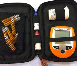 Merely carrying a glucometer doesn't guarantee accurate glucose levels; devices must be calibrated regularly for source-specific blood – capillary or venous. (Photo/Greg Friese)