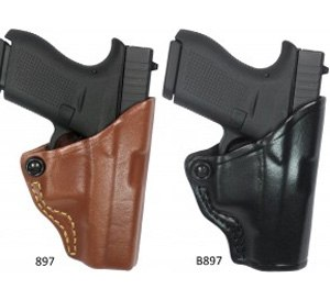 Pictured is the Belt Slide Retention Holder for the Glock 42 (Photo courtesy Gould & Goodrich)