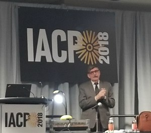 Gordon Graham speaks to IACP 2018 attendees. (Photo/PoliceOne)