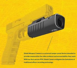 A rendition of the shield weapon camera (Photo/Centinel Solutions)