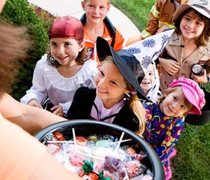 Ensure young goblins and ghosts have adequate and safe openings for seeing and breathing. (Photo/Mass.gov)