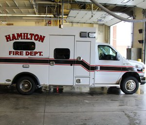 The Hamilton Fire Department shaved as much as four minutes off their response time by moving a medic unit. (Photo/HFD)