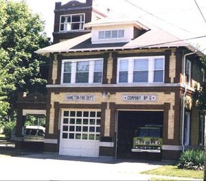 The Fire Department has two stations that are over 100 years old. (Photo/Hamilton Fire Department)