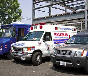Hatzolah has long struggled to gain traction in Los Angeles, where the city fire department is the exclusive EMS provider. (Photo/YouTube)