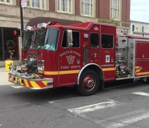 Five new career firefighters will join Hazleton's department in the next few weeks as officials replace retirees. (Photo/HFD)