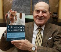 Henry Heimlich, lifesaving maneuver creator, dies at 96