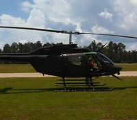 Ga. man arrested after shooting airborne police helicopter