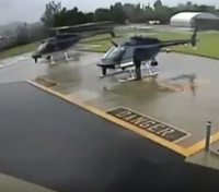 Newly released video shows Calif. police helicopters colliding in 2012