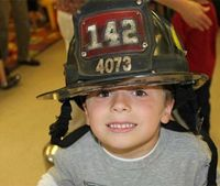 9/11 firefighter's helmet stolen from house