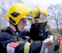 Helmet camera study improves lifesaving decisions for firefighters