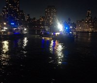 Official: 2 dead, 3 critically injured in NYC helicopter crash