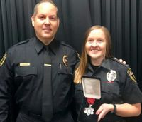 EMT honored for heroic actions during Las Vegas shooting