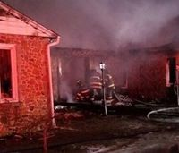 Baltimore firefighters recall minutes before being rescued from burning home