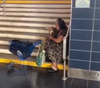 Video: Officers help homeless woman celebrate her birthday
