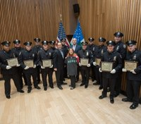 NYPD hosts first-ever HOPE Awards honoring 14 LEOs' work in suicide prevention