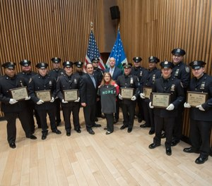 NYPD Hope Awards (Photo/ New York Police Department)