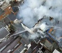 Fire severely damages England's oldest hotel