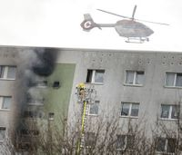 High-rise fire in Germany's capital leaves 18 injured