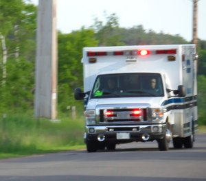 The bill would change the required number of medical professionals on each rig from two to one. (Photo/iStock)
