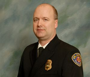 As division chief of logistics and support services for the Olathe (Kan.) Fire Department, Chief David Dock maintains the department's fleet, facilities and communications systems. (Courtesy photo)