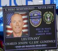 Officials: Ill. officer shot with own gun, signs of struggle