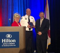 Fla. paramedic honored for off-duty drowning rescue
