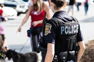 The right two-way radio accessories can further enhance officer safety and efficiency. (Photo/ImpactComms)