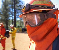 Fire line redemption: California inmates train to fight wildfire