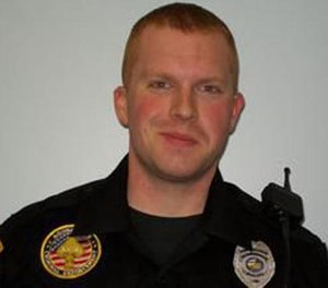 Officer Luke Brown (Photo/Cloverdale Police)