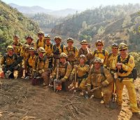 Calif. turns to civilians as inmate firefighters dwindle