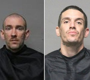 Pictured is Timothy Cleveland Dill (left) and Bruce Webb McLaughlin, Jr. (Photo/Pickens County Sheriff)