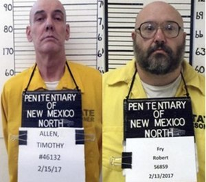 Timothy Allen and Robert Fry. (Photo/NMDOC)