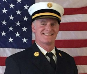 """Jacksonville Beach firefighters said they have """"lost all trust, faith and confidence"""" in Chief David Whitmill's ability to lead. (Photo/JBFD)"""