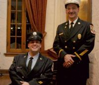 Volunteer firefighter pushes aside disabilities to serve