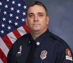 Tallahassee Fire Department engineer Jeffery Atkinson,43, was a 17-year veteran of the department. (Photo/TFD)