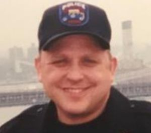 Pictured is retired officer Paul John Johnson. (Photo/NYPD)
