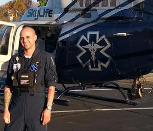 Paramedic Kyle Juarez was one of the four victims of the Skylife medical helicopter crash. (Facebook photo)