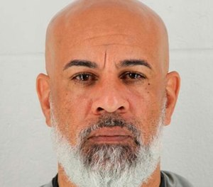In this photo provided by the Johnson County, Kansas Sheriff's Office, Charles Pearson is pictured in a booking photo dated Oct. 8, 2018. (Johnson County, Kansas Sheriff's Office via AP)