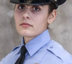 This undated photo released by the St. Louis Police Department shows officer Katlyn Alix. (St. Louis Police Department via AP)