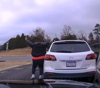 Video: Ark. LEO risks life to save baby during standoff with armed dad