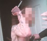 Video: NC suspect attacks deputy with knife