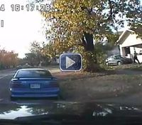 Video: Kan. officer shoots man armed with knives