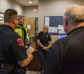 One of the many goals of the mental health agency liaison officer would be to increase familiarity among LEOs and mental health, substance abuse and social service providers. (Photo/P1)