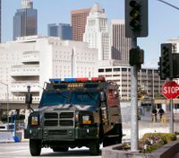 LA sheriff says feds should restore military gear for police
