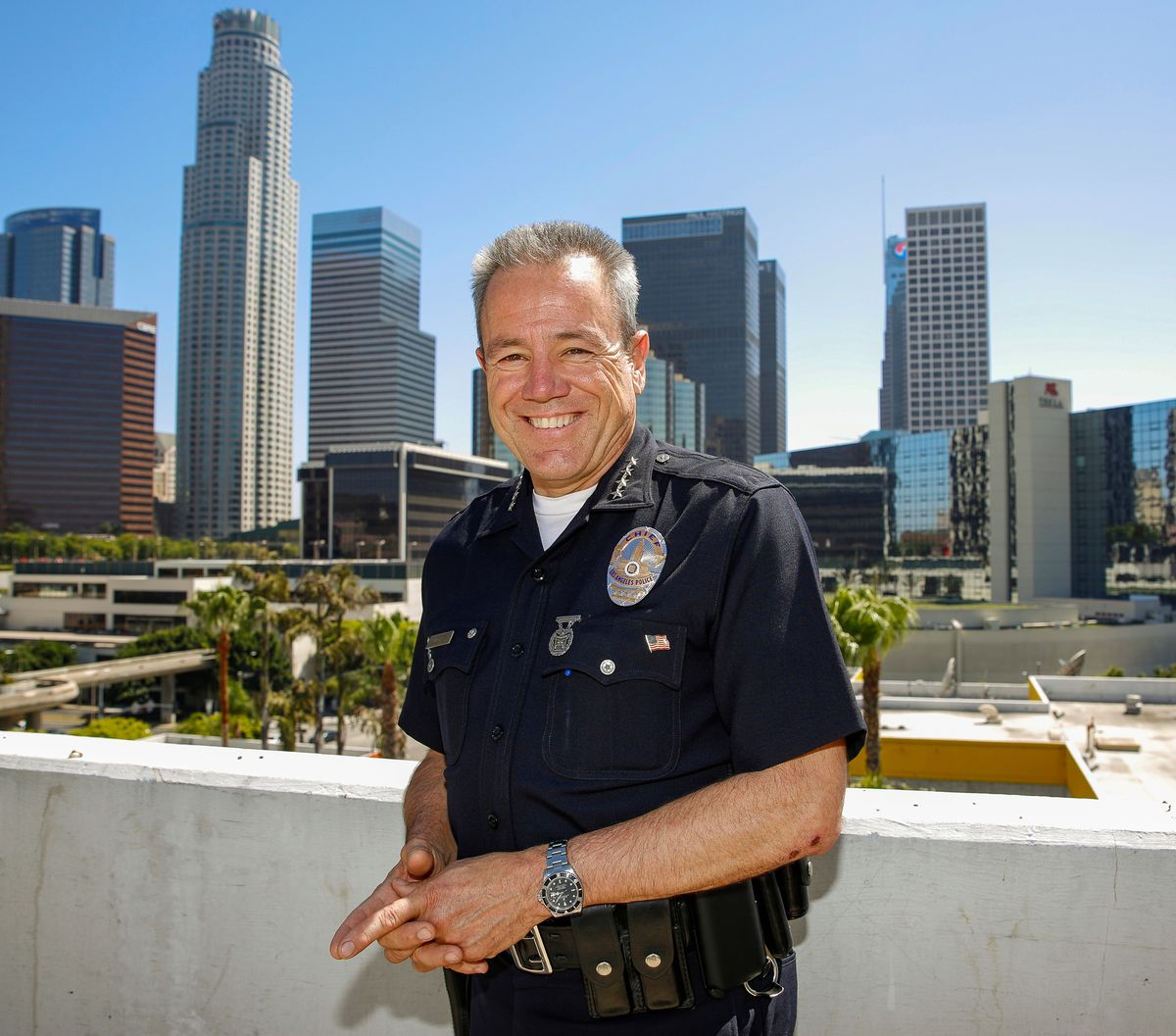 LA police chief aims to wipe out minor warrants for homeless