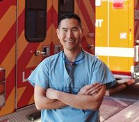To serve and protect, USC trauma surgeon moonlights as a LAPD cop